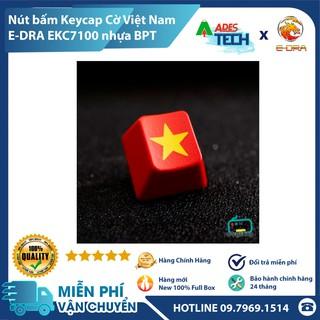 [PHỤ KIỆN HOT] Nút Bấm Keycap Cờ Việt Nam EDRA EKC7100 Nhựa BPT - Dành Cho Nhiều Loại Bàn Phím Máy Tính Cơ thumbnail