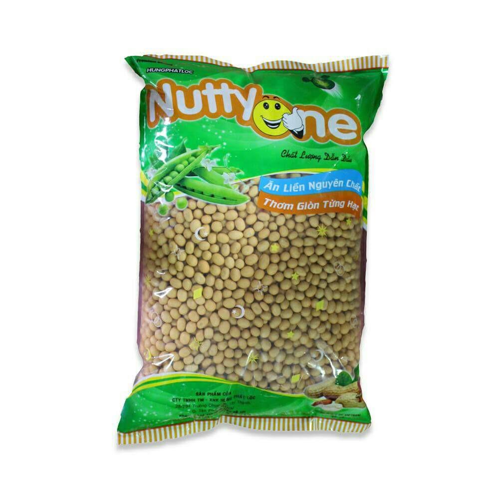 3kg Đậu phộng da cá vị cốt dừa tặng 1kg Bánh Hữu nghị tùy chọn