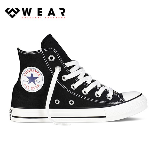Giày Sneaker Unisex Converse Chuck Taylor All Star Classic Black / White - 121186