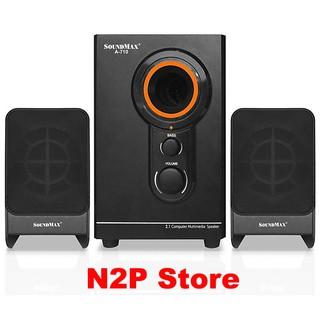 Loa máy tính vi tính Soundmax A710 – 2.1 (Hãng phân phối chính thức)