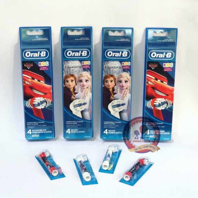 [Oral B] Đầu bàn chải điện trẻ em❤FREESHIP ❤ đầu bàn chải điện , oral b