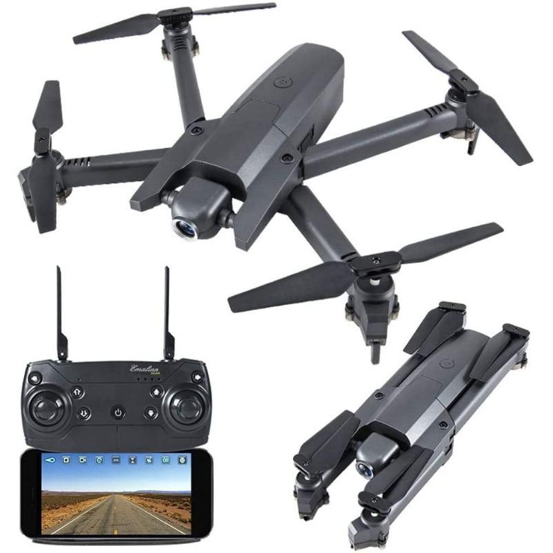 Máy bay điều khiển Flycam Drone GW106 có Camera HD 720P FPV gấp gọn