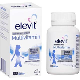 Elevit Women s Multi - VITAMIN TỔNG HỢP ELEVIT CHO PHỤ NỮ Hộp 100V thumbnail