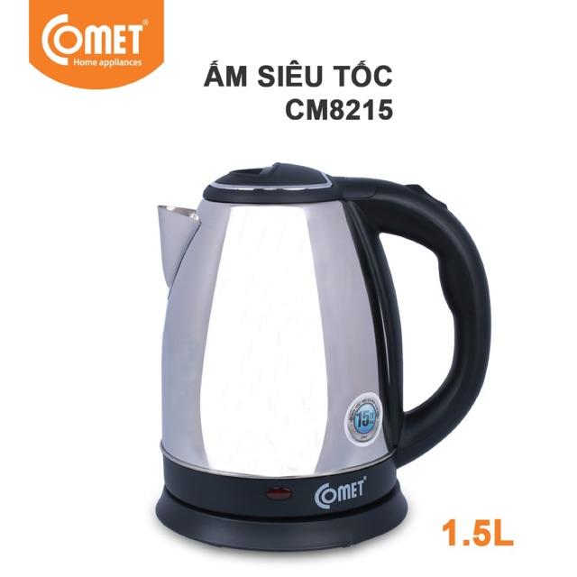 Bình Đun Siêu Tốc COMET CM8215 - 1.5L - Hàng Chính Hãng