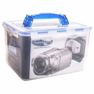 Chống ẩm cho máy ảnh, máy hút, ẩm kế, hạt hút, hộp SUPER LOCK 8,4L thumbnail