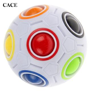 Kids Toy Spherical Ball ABS Rainbow Ball Kids Magic Spherical Ball Trendy