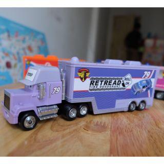 Bộ sưu tập xe mack truck disney của Mattel 79