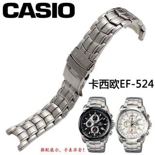 Dây Đeo Inox Cho Đồng Hồ Casio Ef-524 Series / Ys19
