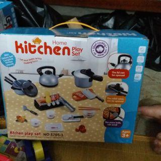 Bộ Đồ Chơi Nấu Ăn Hitchen 36 món