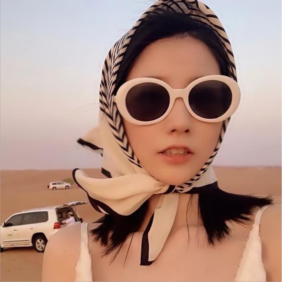 Khăn lụa vuông unisex 70 70x70cm turban bandana cao cấp, làm áo yếm nhiều kiểu dáng khăn trùm đầu đẹp rạng ngời