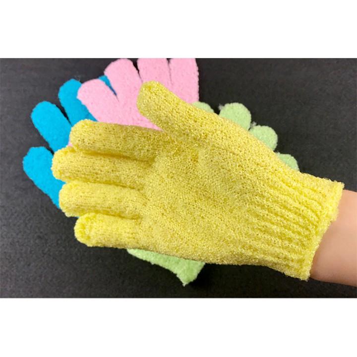 Găng tay phòng tắm nhiều màu - Găng tay nữ