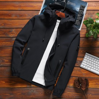 Ready Stock Macheda Menswear 2019 Hooded Men'S Spring Autumn Mens And Fashion Casual Outdoors Male Hip Hop Streetwear 1190 Jackets Party Clothing