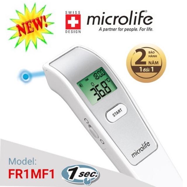 Nhiệt kế hồng ngoại đo trán FR1MF1 - Microlife [Bảo hành 2 năm]