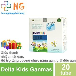 Delta Kids Ganmas - Giúp thanh nhiệt, mát gan, giải độc gan. Hỗ trợ tăng cường chức năng gan (Hộp 20 ống) thumbnail