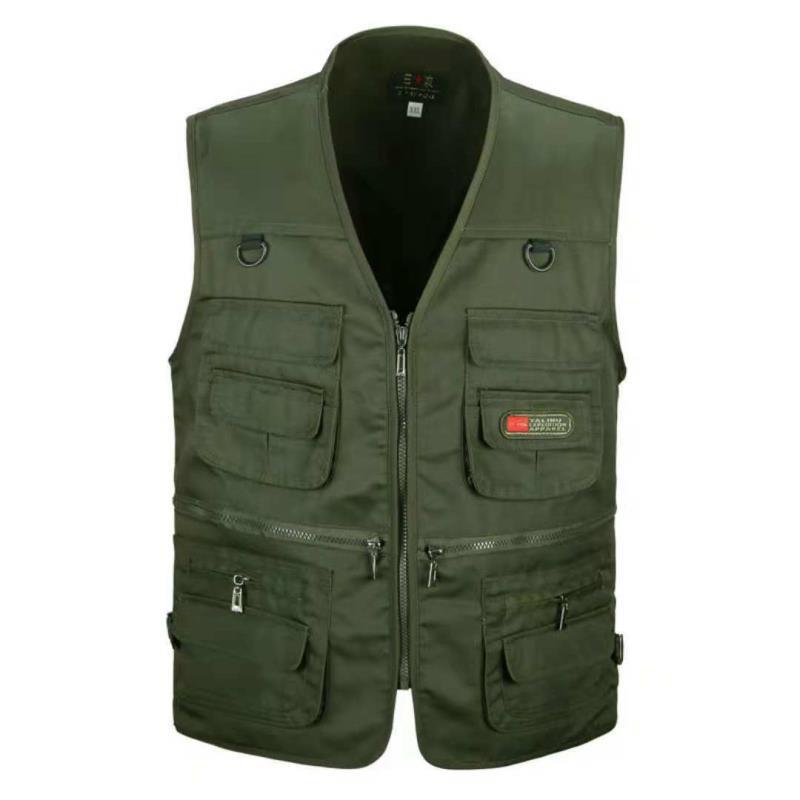 Áo Vest mỏng dùng chụp ảnh ngoài trời cho nam