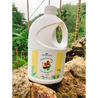 Nước lau sàn Enzym bồ hòn đậm đặc mùi quế sả