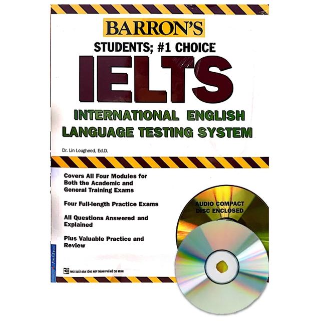 Sách - Barrons IELTS International English kèm 2CD