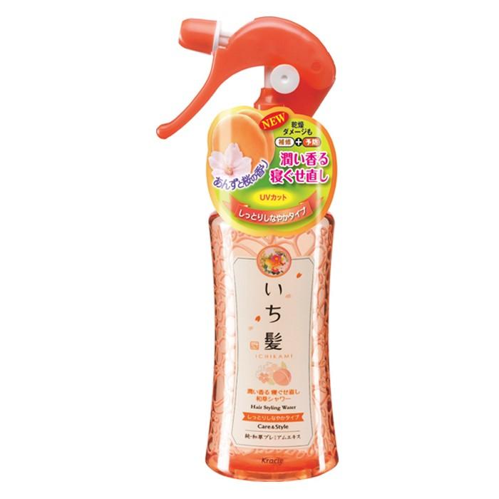 KRACIE- Xịt Dưỡng tóc Ichikami cho tóc mềm mượt 250 ml