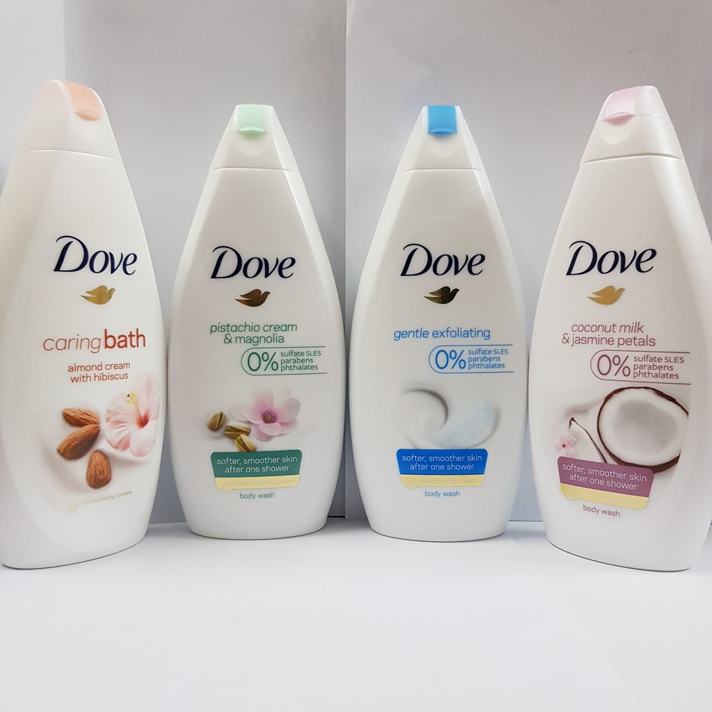 tắm dove coconut milk