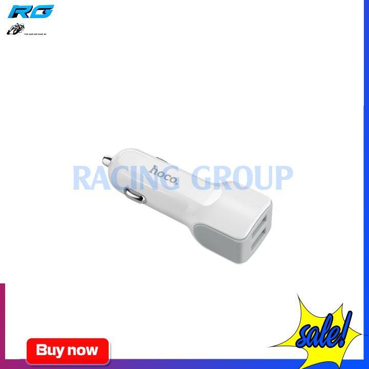 Sạc Xe Hơi Hoco Z23 2 Cổng USB 2.4A - Bảo Hành Chính Hãng 12 Tháng