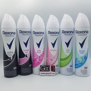 xịt khử mùi toàn thân Rexona nữ thumbnail