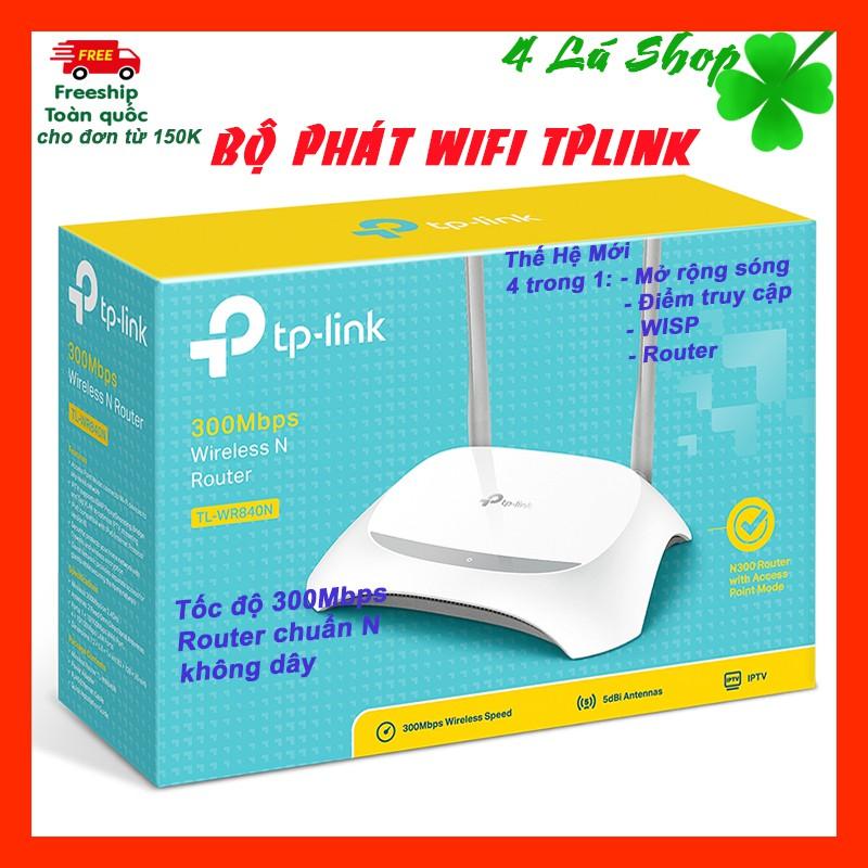 Bảng giá Bộ phát wifi Tplink 840N () nguyên tem mác Phong Vũ