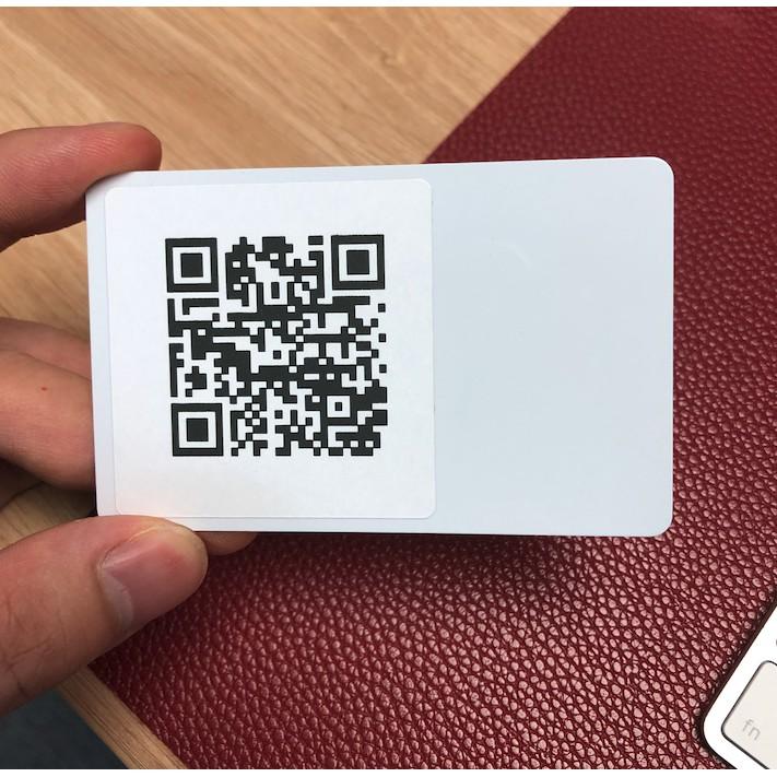 Thẻ thông minh NTAG215 + Tem QR