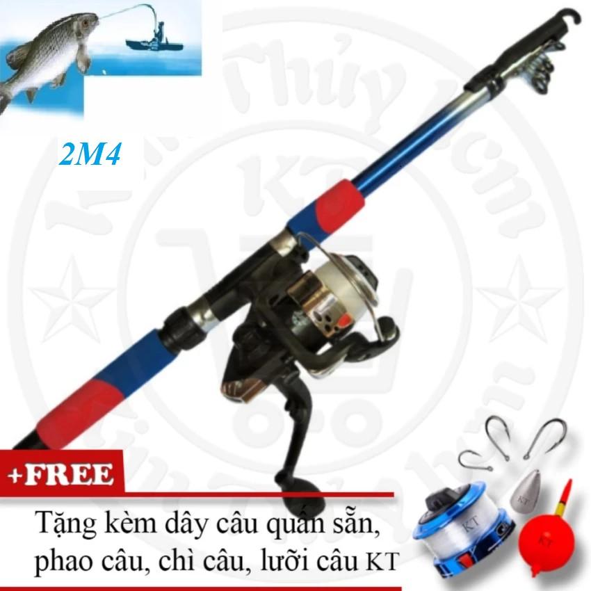 Cần câu cá du lịch 2m4