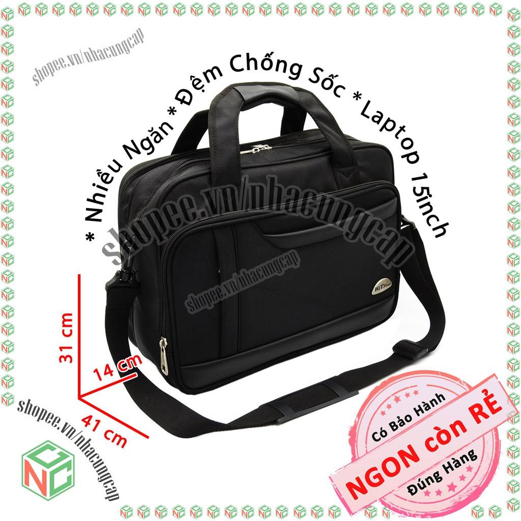 Cặp táp có ngăn Laptop phù hợp dân công sở văn phòng - học sinh , sinh viên - NKT-CCS-2150 (Đen)