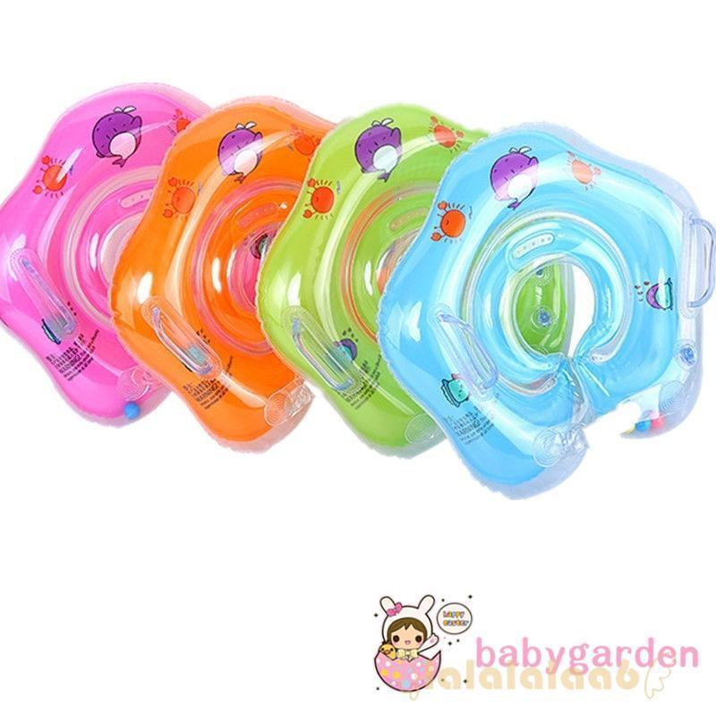 ◕ω◕GAR-Swimming Baby Accessories Swim Neck Ring Tube Ring Safety Infant Float