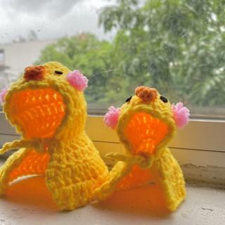 áo choàng cho hamstar mẫu gà bông thumbnail