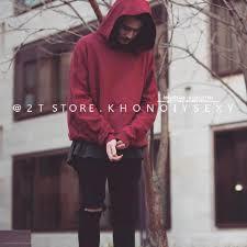Áo nỉ hoodie màu đỏ mận nỉ bông 2 lớp form rộng nam nữ