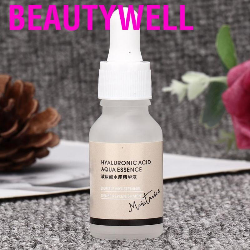 Beautywell 15ml Hyaluronic Acid Facial Serum Face Moisturizing Anti-Aging Whitening Skin Care