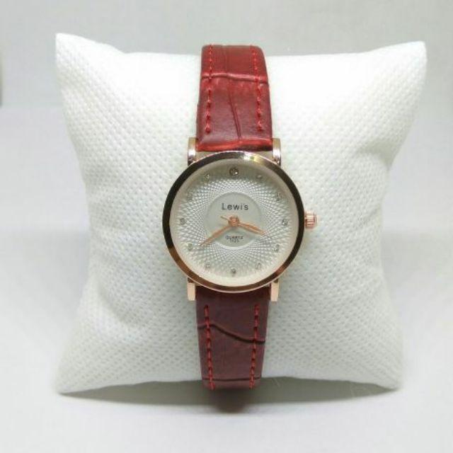 Đồng hồ nữ Lewi's  lW9630 dây da cao cấp