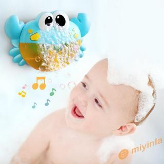 Bộ đồ chơi tạo bong bóng phát nhạc hình con cua xinh xắn dành cho các bé