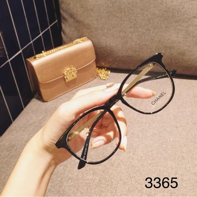 Gọng kính cận bo tròn thời trang nam nữ 3365 -Tiệm kính Candy