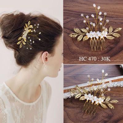 Cài tóc cô dâu HC470