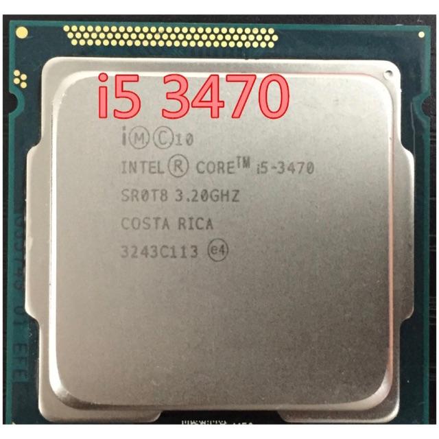 cpu i5 3470 sk1155 tặng kem giải nhiệt Giá chỉ 850.000₫
