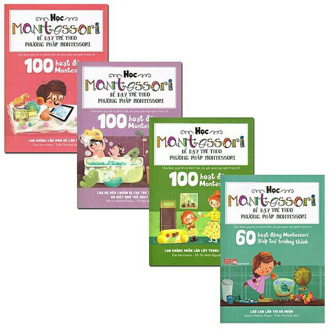 Sách - Combo Học Montessori Để Dạy Trẻ Theo Phương Pháp Montessori (Trọn Bộ 4 Cuốn) - 3405215 , 1028166527 , 322_1028166527 , 299000 , Sach-Combo-Hoc-Montessori-De-Day-Tre-Theo-Phuong-Phap-Montessori-Tron-Bo-4-Cuon-322_1028166527 , shopee.vn , Sách - Combo Học Montessori Để Dạy Trẻ Theo Phương Pháp Montessori (Trọn Bộ 4 Cuốn)