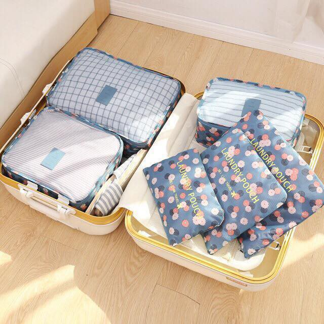 Set 6 túi đựng đồ du lịch