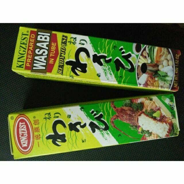 Mù tạt tươi Wasabi Nhật Bản 43g