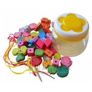 [HOT]Đồ chơi hộp xâu hạt gỗ nhiều chi tiết đáng yêu – Toca Toys
