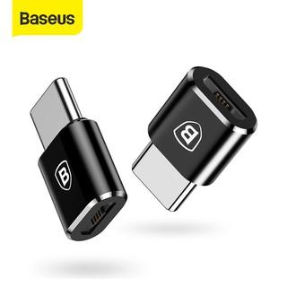 Đầu cắm chuyển đổi Baseus Micro USB sang Type-C