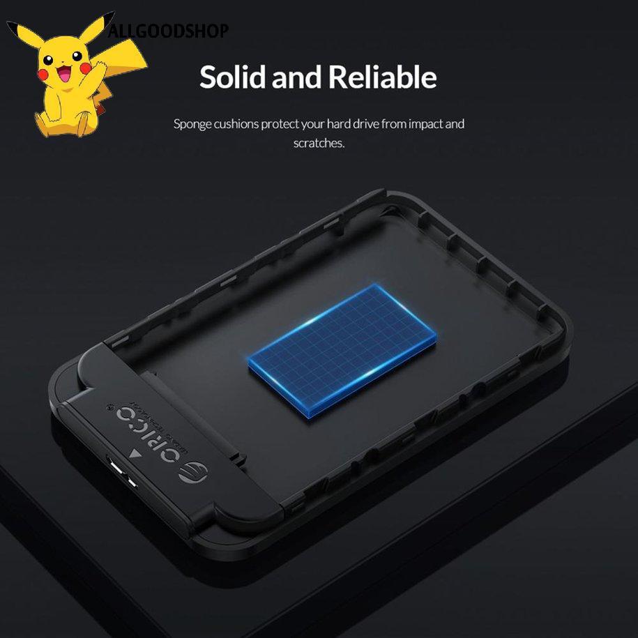 ✨Box ổ cứng 2.5 inch SATA USB 3.0 Orico 2520U3 5Gbps 4TB HDD SSD Enclosure