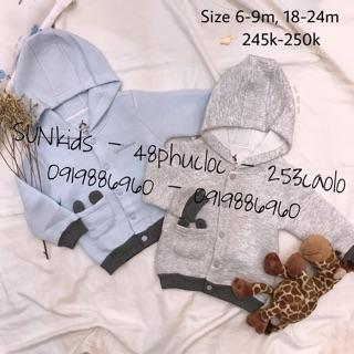 (5 mẫu) Áo khoác trần bông có mũ UALA