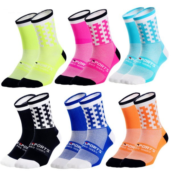 Professional Sport Socks Breathable Road Bicycle Socks
