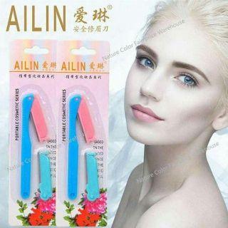 Bộ dao cạo tỉa chân mày lông mày tiện lợi Ailin thumbnail