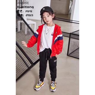 Áo Khoác Bóng Chày Thời Trang Cho Bé