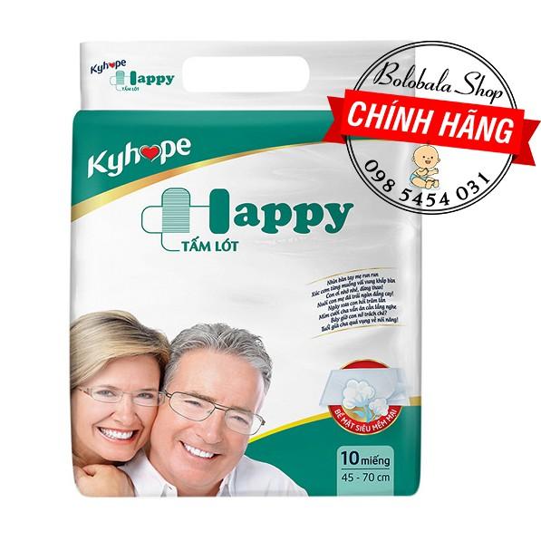 Tấm lót Kyhope Happy người già Size M/L 10 Miếng
