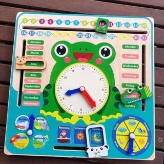 Đồng hồ lịch đa năng cho bé